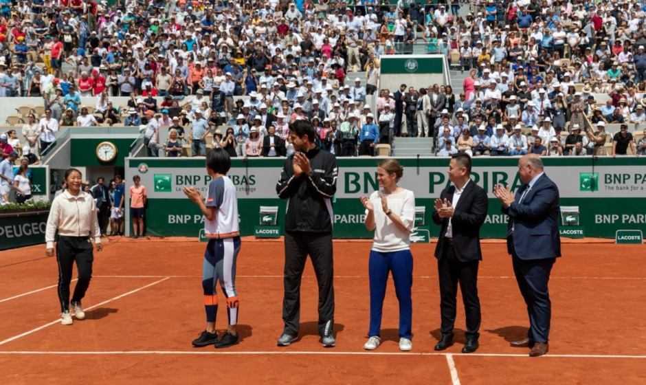 OPPO premia due finalisti junior del tennis al Roland-Garros