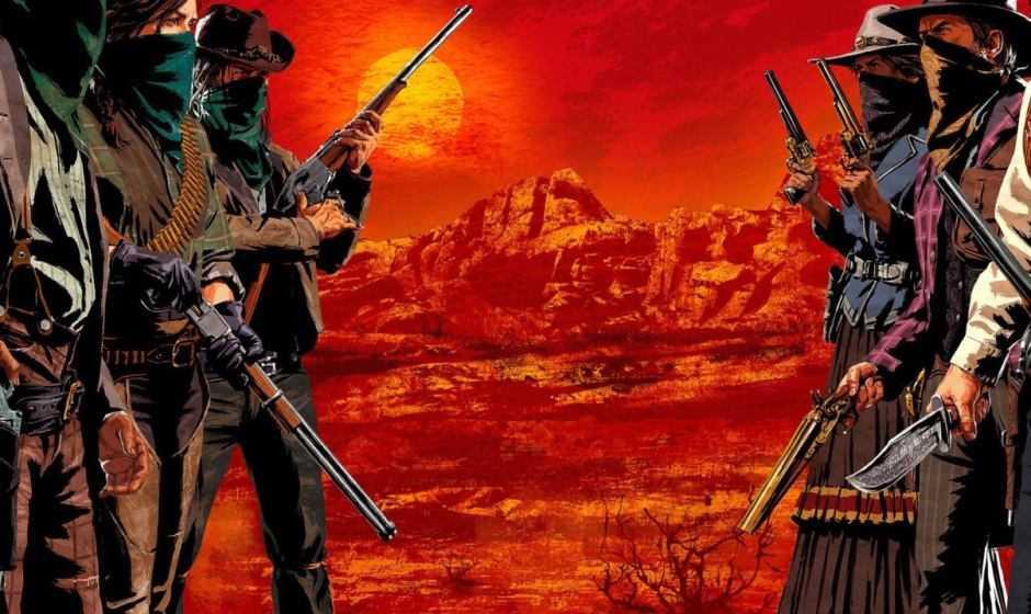Red Dead Online: il trailer di lancio e l'aggiornamento 1.08