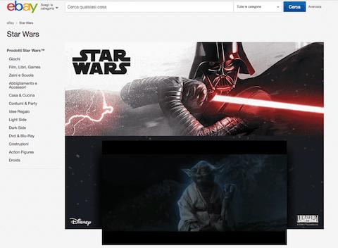 Star Wars Day, eBay celebra la saga con uno store ufficiale