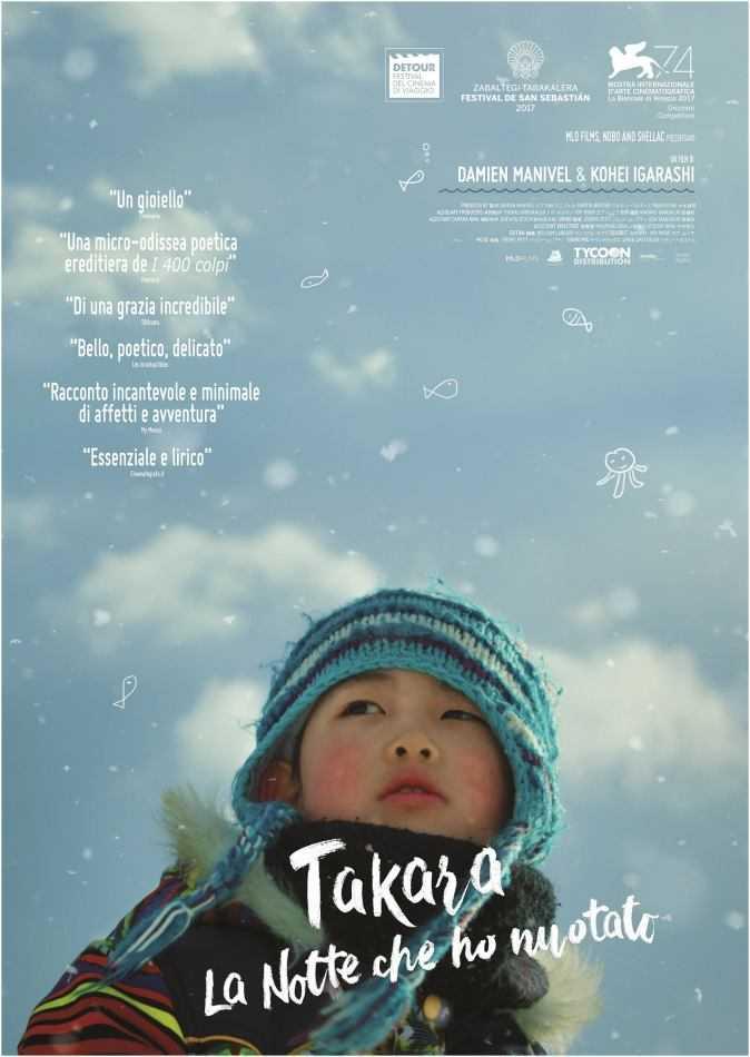 TAKARA - La notte che ho nuotato | Clip e post
