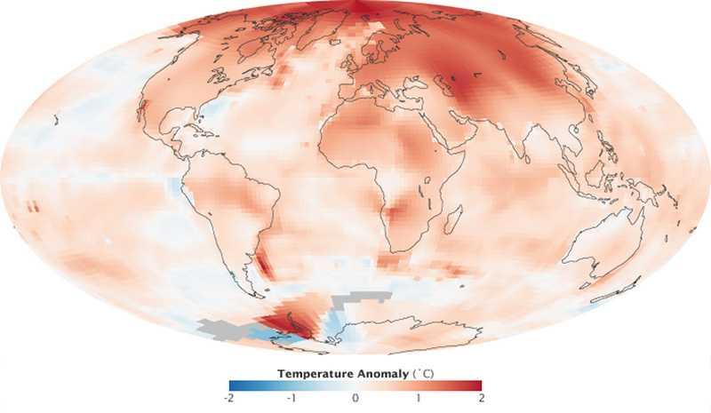 Ecologia: un iceberg grande come la Francia a rischio distacco