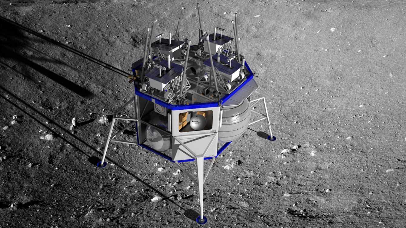 Blue Moon e Jeff Bezos: spedizioni Amazon fino alla Luna?