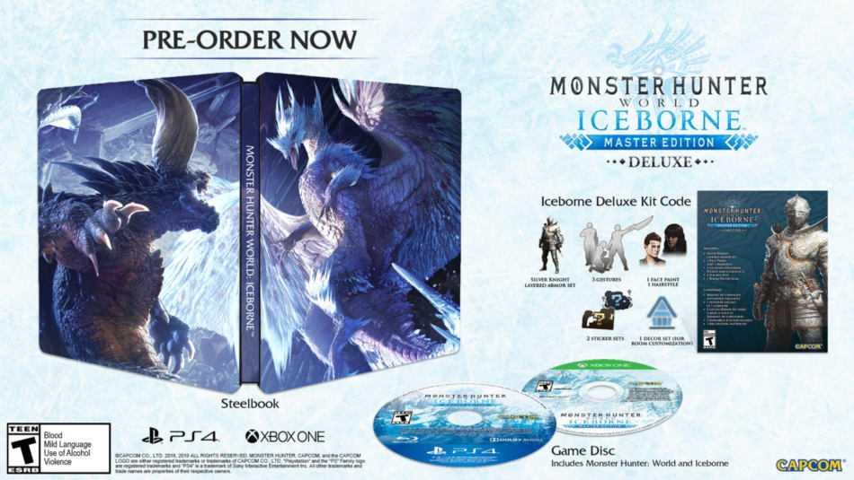 Monster Hunter World: dettagli e data dell'espansione Iceborne