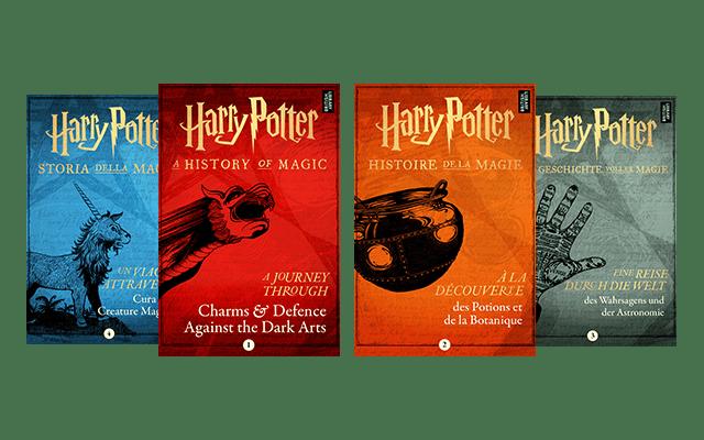 Harry Potter: quattro nuovi libri in arrivo a giugno