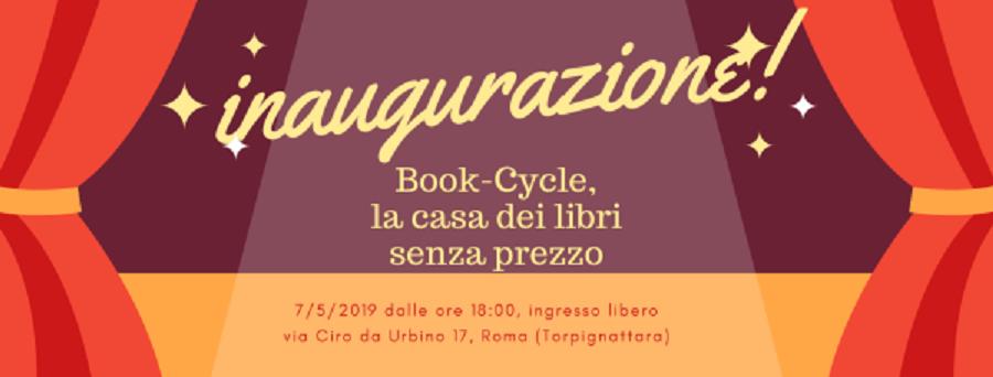 Libri: a Roma apre Book-Cycle, la Casa dei Libri senza prezzo