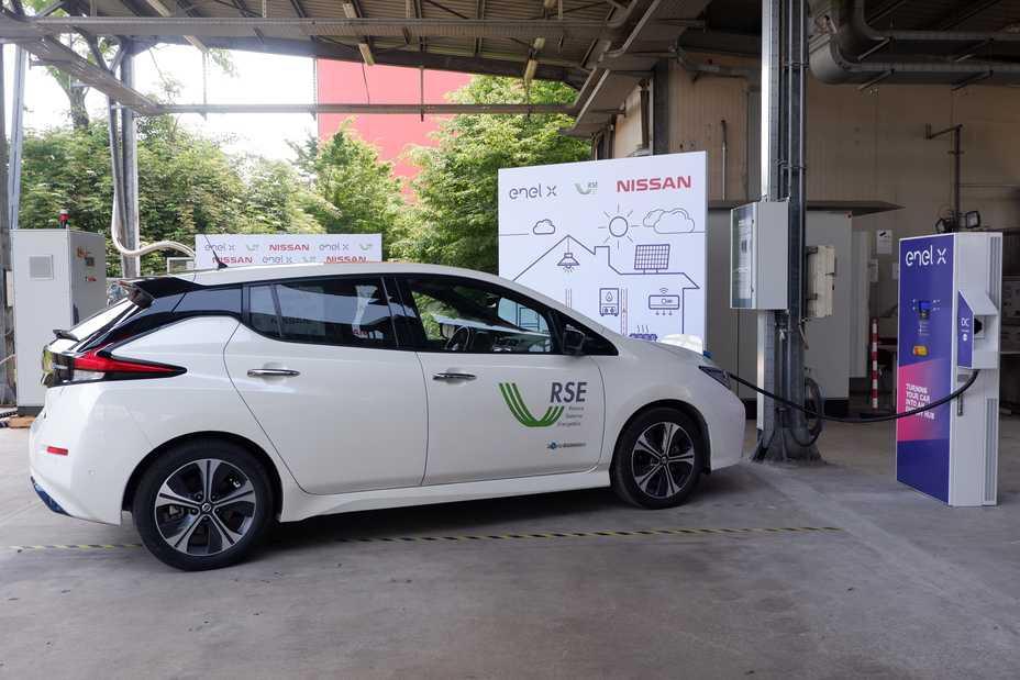 Enel X e RSE: prima sperimentazione della tecnologia Vehicle to Grid