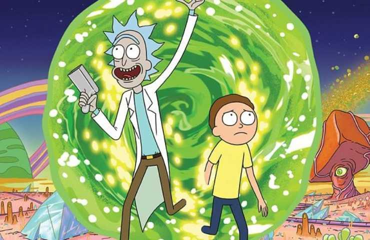 Rick e Morty 4 da oggi disponibile su Netflix