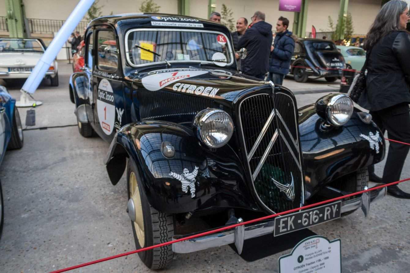 Traction Avant al Tour Auto 2019 il centenario di Citroën