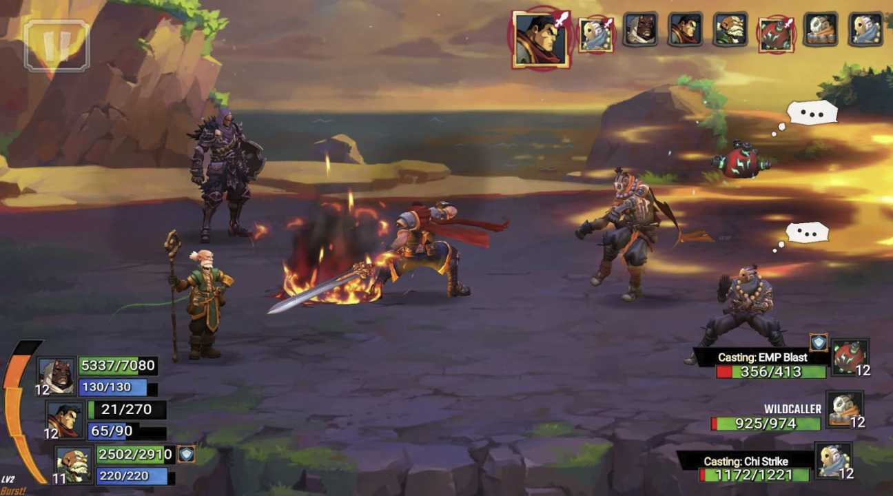 Battle Chasers: Nightwar, in arrivo su iOS e Android