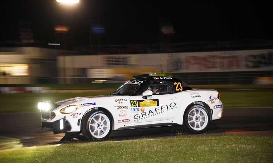 Alex Fiorio, rientro alle corse positivo con l'Abarth 124 rally
