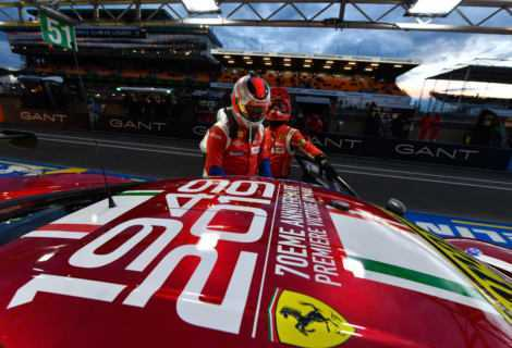 Ferrari: grande trionfo alla 24 ore di Le Mans