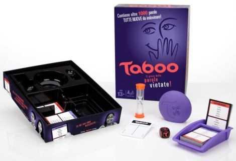 Taboo: regole e consigli sul gioco da tavolo Hasbro | Recensione