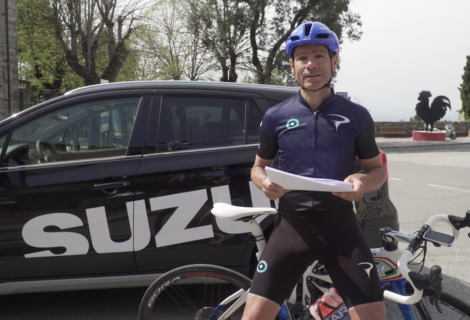 Davide Cassani Ambassador di Suzuki per la stagione 2019
