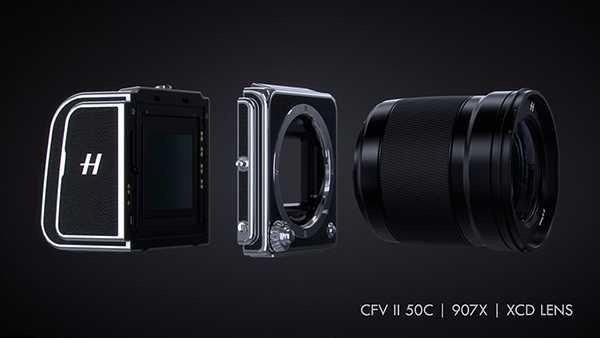 Hasselblad X1D II 50C: mirrorless medio formato tascabile