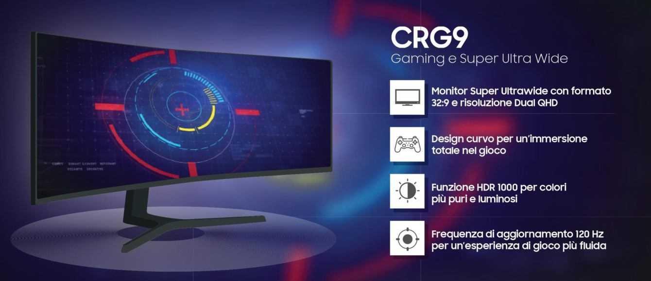 Samsung presenta i nuovi monitor 2019 per business e gaming