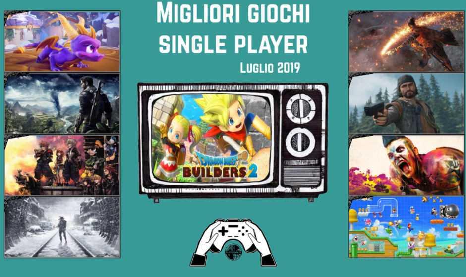 Migliori videogiochi single player [Luglio 2019]