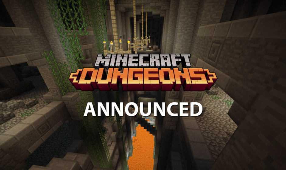 E3 2019: Minecraft Dungeons annunciato, trailer e data d'uscita