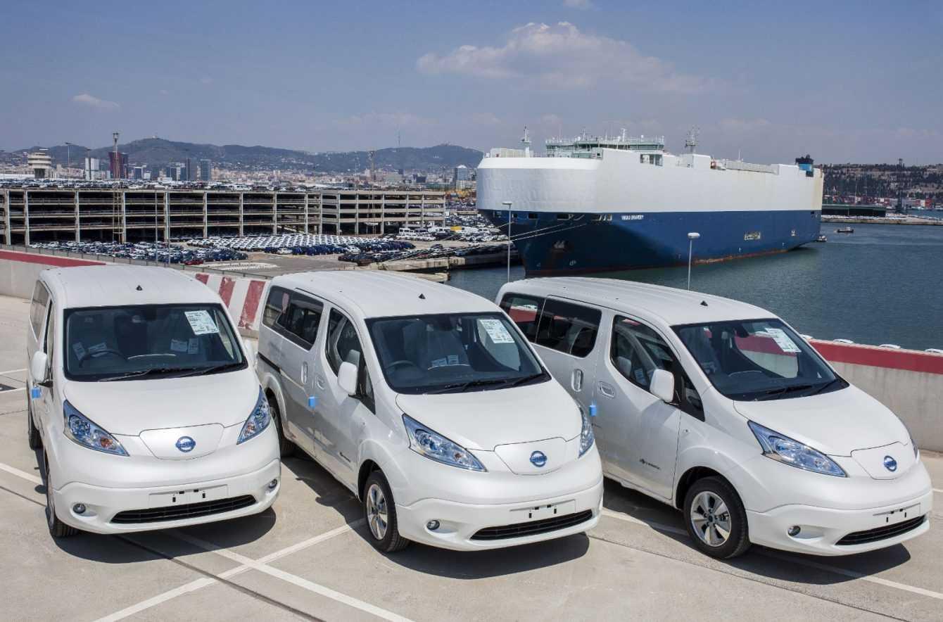 Nissan e-NV200 van 100% elettrico: record in Europa