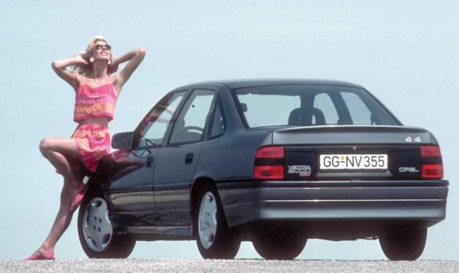 Opel: 30 anni fa la prima trazione integrale con Vectra