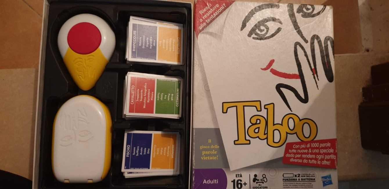 Recensione Taboo: regole e consigli sul gioco da tavolo Hasbro