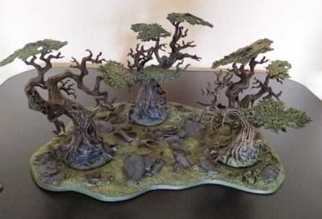Come dipingere miniature Games Workshop – Tutorial 41: bosco Citadel