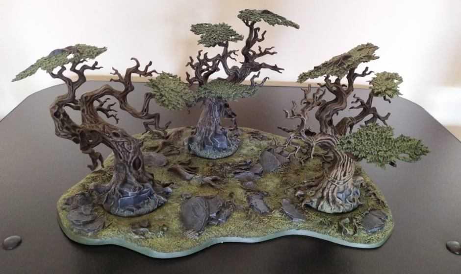 Come dipingere miniature Games Workshop – Tutorial 41: bosco Citadel