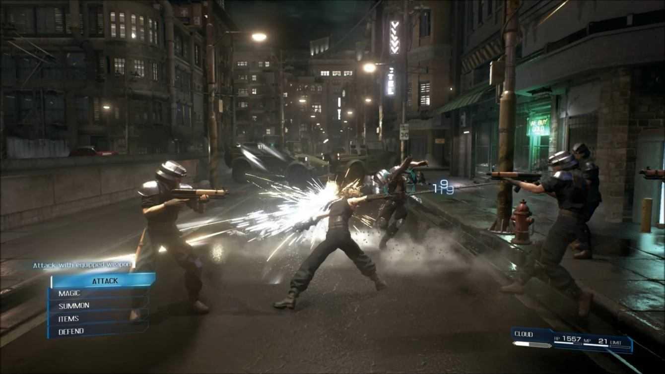 Final Fantasy VII: il Remake è stato già ricreato in Dreams!