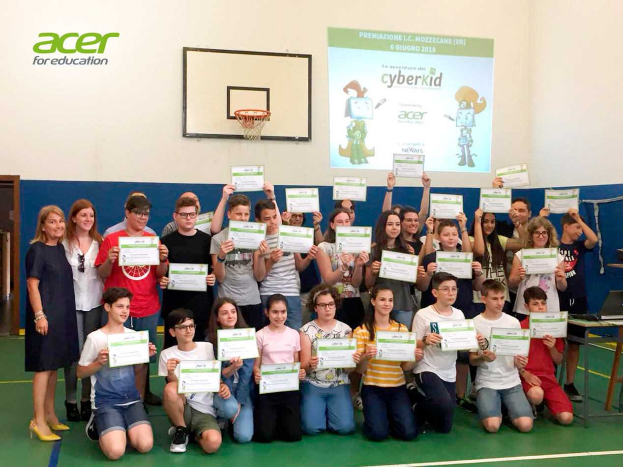 """Acer for education, supporto a """"le avventure dei Cyberkid"""""""