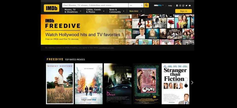 IMDb TV: streaming gratis di film e serie tv in arrivo in Europa