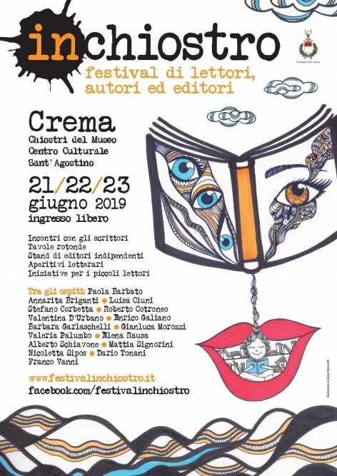 Inchiostro: 21-22-23 giugno all'insegna della letteratura a Crema