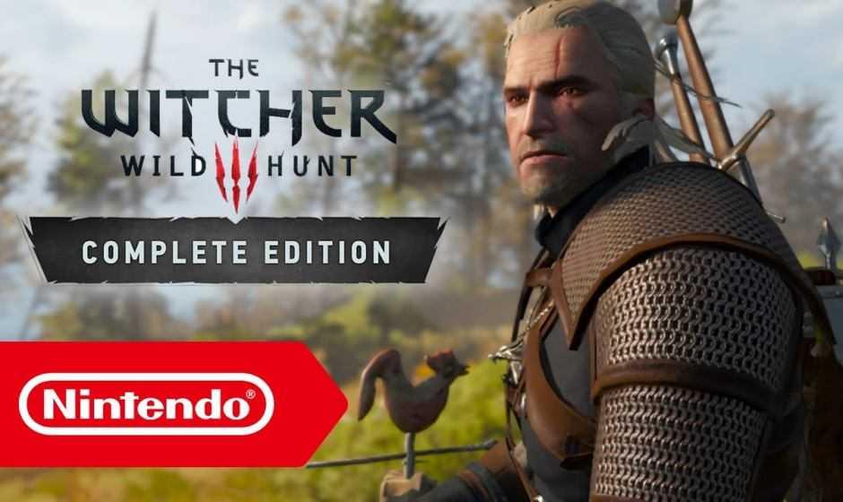 The Witcher 3: Wild Hunt, info importanti sull'edizione Switch!
