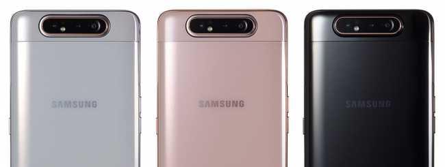 Samsung Galaxy A80 disponibile in Italia ad un prezzo scontato