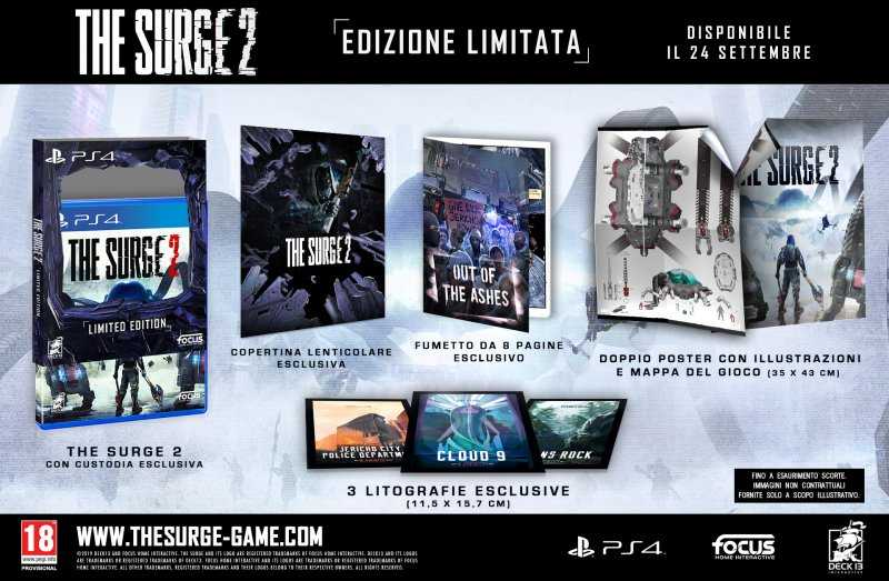 The Surge 2: annunciate data di uscita e Limited Edition