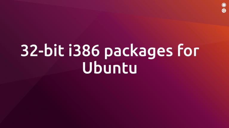 Ubuntu: cambia idea e fa marcia indietro sui 32-bit