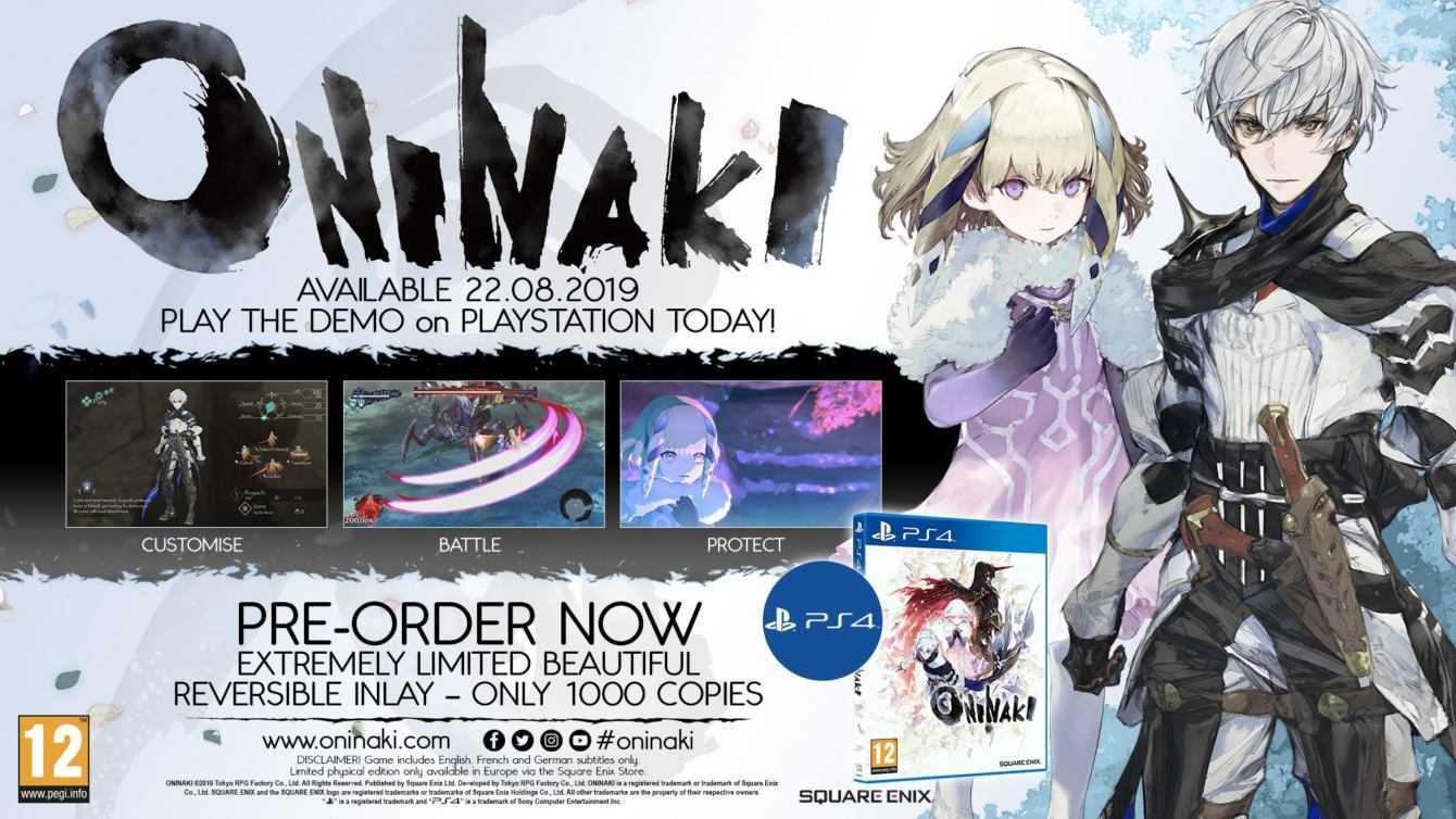 Oninaki: è disponibile la demo del gioco di Tokyo RPG Factory!