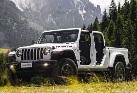 Nuova Jeep Gladiator: in anteprima europea al Camp Jeep