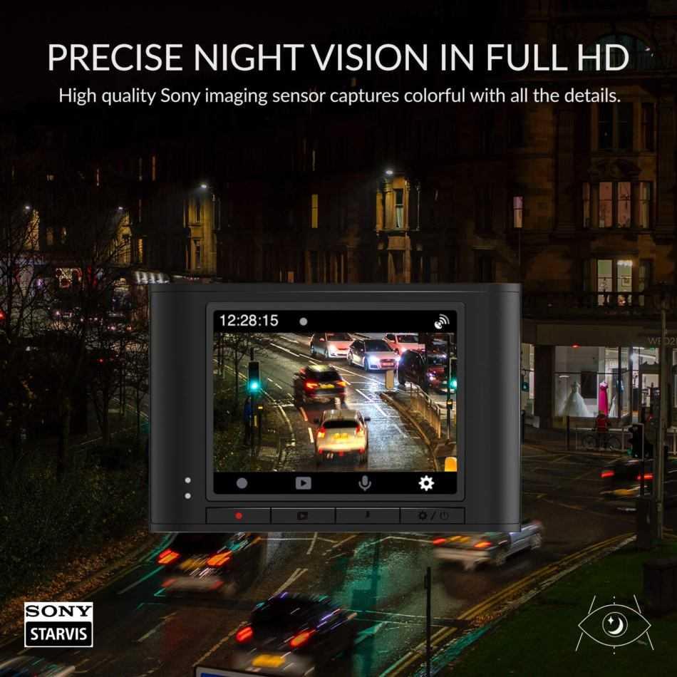 YI Nightscape: dash cam con visione notturna avanzata