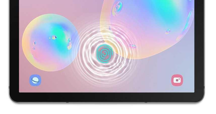 Samsung Galaxy Tab S6: produttività e sensore sotto al display