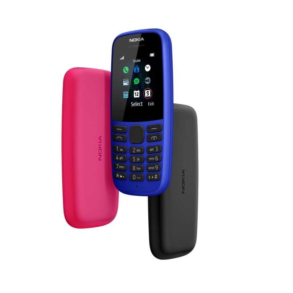 Presentato il nuovo feature phone Nokia 105