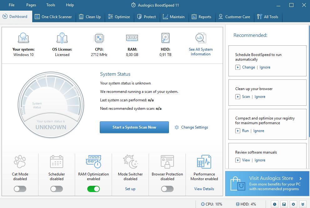 Auslogics BoostSpeed 11: velocizzare il vostro PC | Recensione