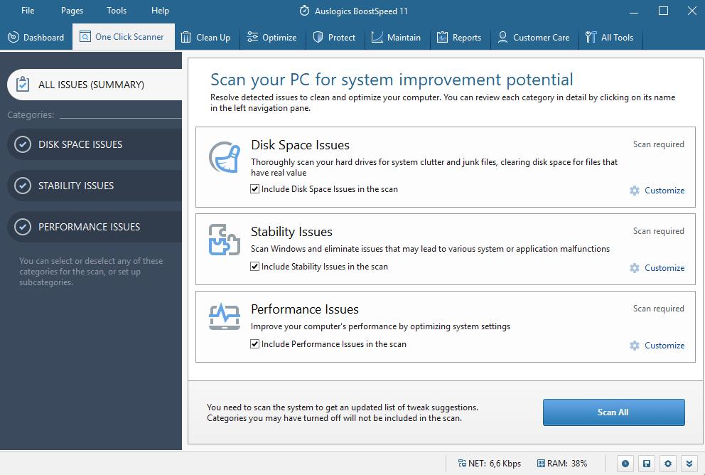 Recensione Auslogics BoostSpeed 11: velocizzare il vostro PC
