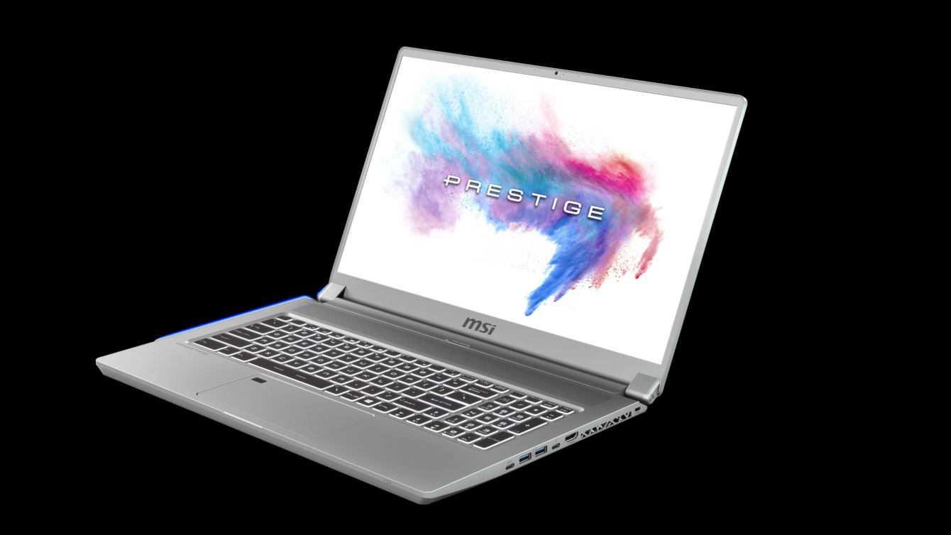 """Arriva P75 Creator, primo laptop 17"""" per content creator di MSI"""