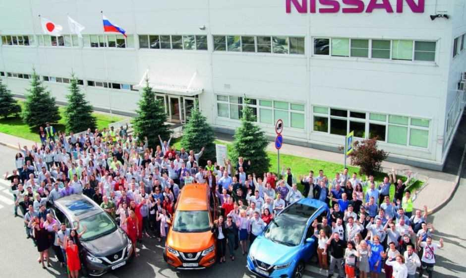 Nissan: 10 anni di produzione a San Pietroburgo