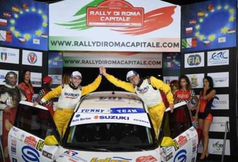 """Suzuki Rally Cup ecco i vincitori di """"Roma Capitale"""""""