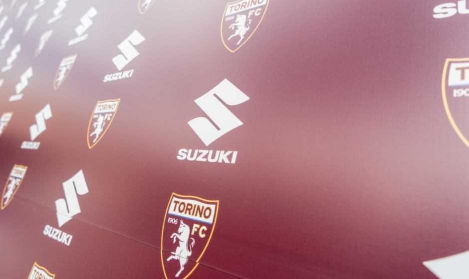 Suzuki è a fianco del Torino F.C. in Europa League