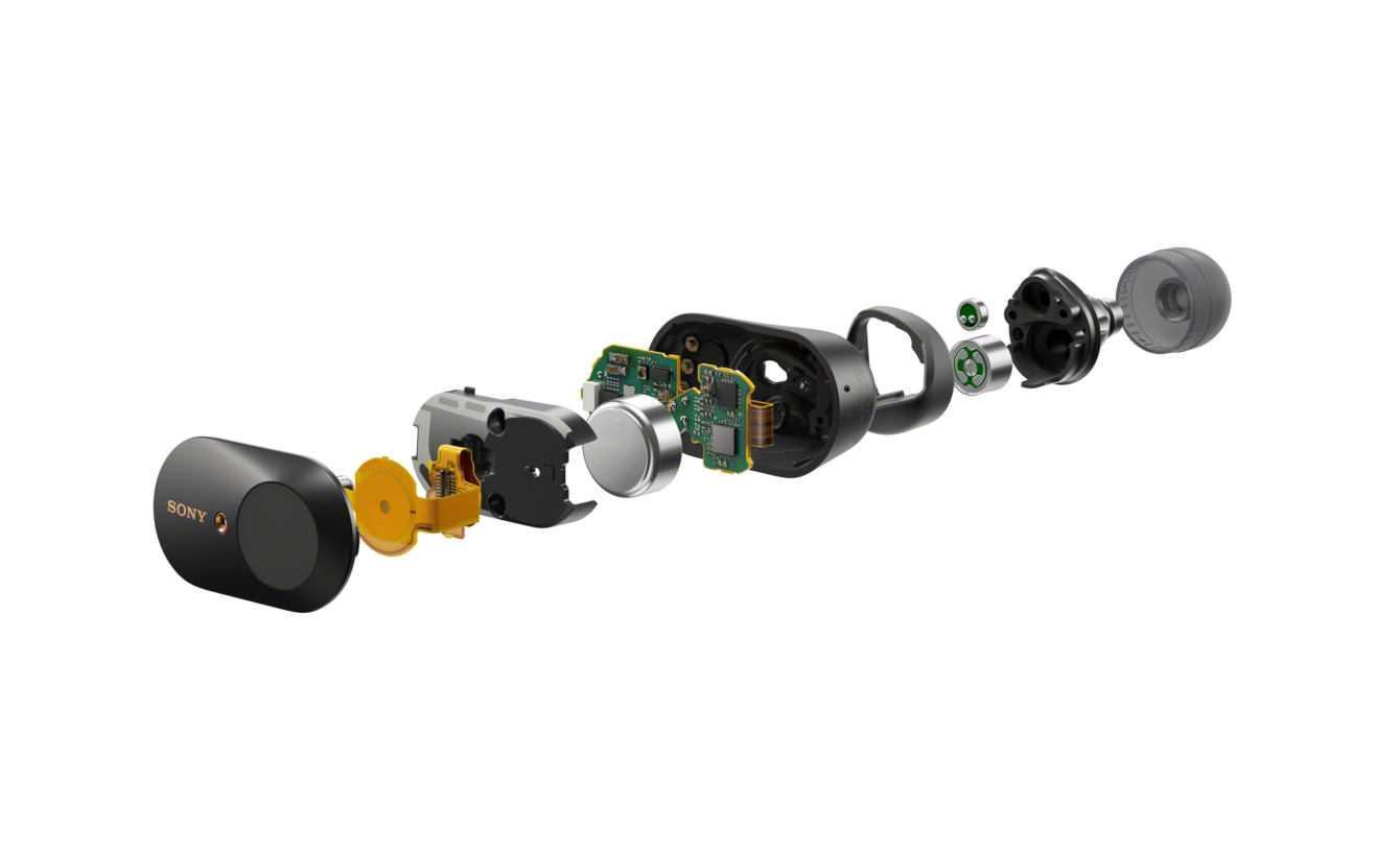 Sony presenta le nuove cuffie WF-1000XM3