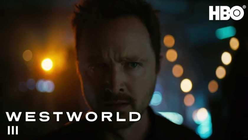 Westworld 3: arriva il trailer con Aaron Paul e Vincent Cassel