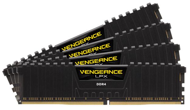 CORSAIR VENGEANCE LPX: presentati nuovi moduli da 32 GB