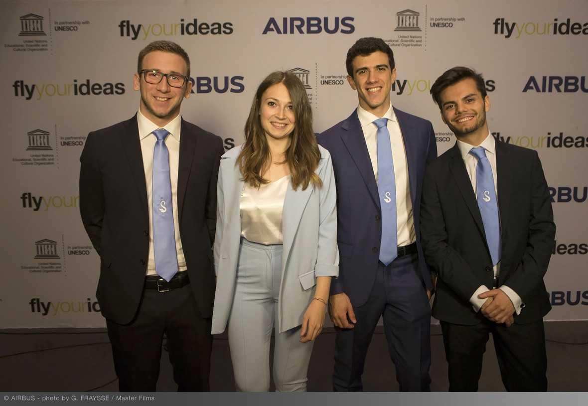 Fly Your Ideas di Airbus: team dell'Olanda vincitore