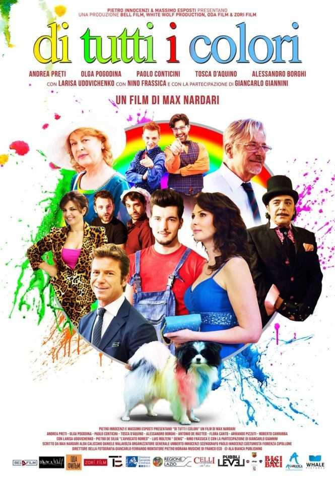 Di tutti i colori: ecco il trailer del film con Andrea Preti
